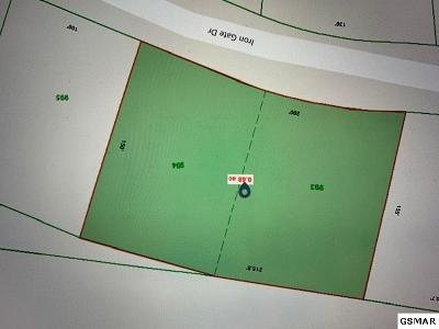 Jefferson County Residential Lots & Land For Sale: Lots 993 & 994 Iron Gate Dr