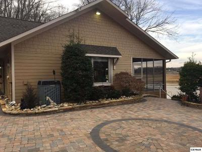 Sevierville Single Family Home For Sale: Waterfront