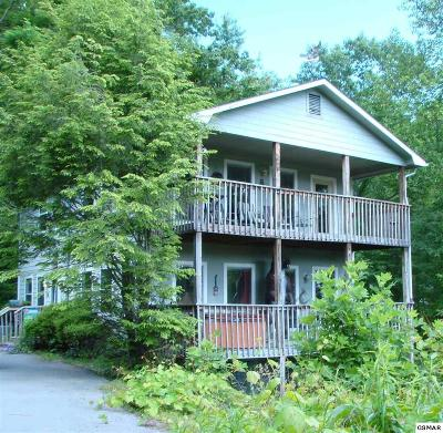 Gatlinburg Single Family Home For Sale: 1318 Big Oak Ct.