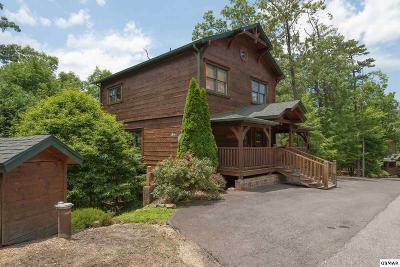 Gatlinburg Single Family Home For Sale: 4532 Holly Forest