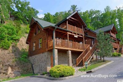 Pigeon Forge Single Family Home For Sale: 1606 Mountain Lodge Way