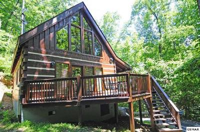 Gatlinburg Single Family Home For Sale: 1303 Big Oak Ct