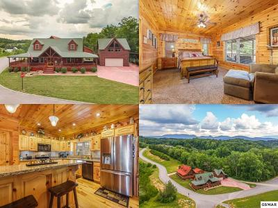 Sevierville TN Single Family Home For Sale: $675,000