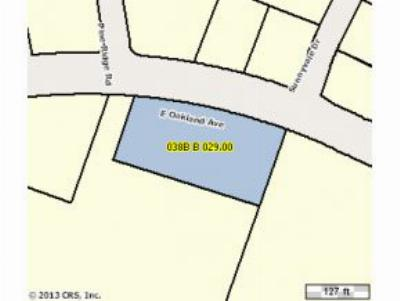Johnson City Residential Lots & Land For Sale: Oakland Avenue