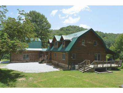 Single Family Home For Sale: 343 Buck Mountain Rd