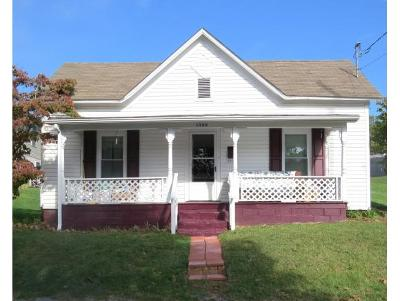 Bristol VA Single Family Home For Sale: $29,950