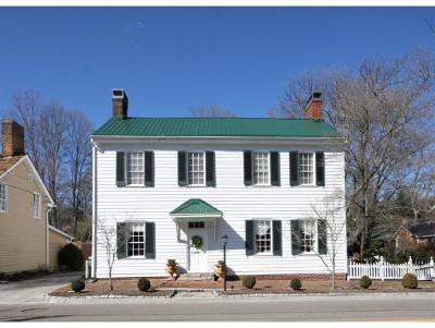 Abingdon Single Family Home For Sale: 239 NE Valley St
