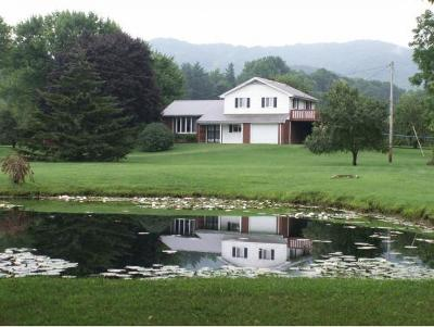 Shady Valley Single Family Home For Sale: 2093 Sluder Road