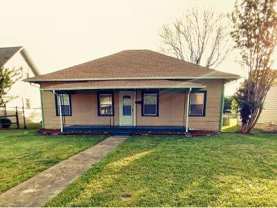 Kingsport TN Single Family Home For Sale: $45,000