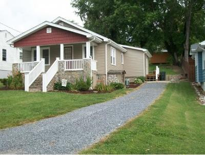 Bristol VA Single Family Home For Sale: $104,900