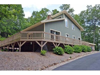 Mountain City Single Family Home For Sale: 166 Boone Ridge