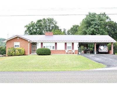 Damascus, Bristol, Bristol Va City Single Family Home For Sale: 15359 Skyland Avenue