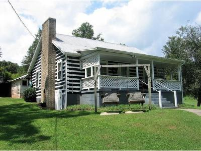 Damascus, Bristol, Bristol Va City Single Family Home For Sale: 7759 Rich Valley Road