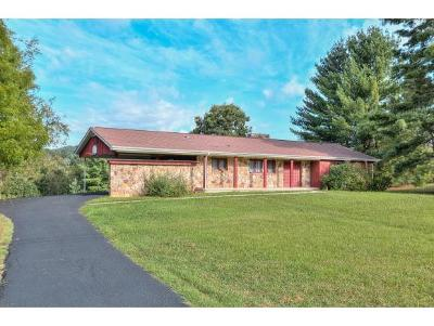 Bristol Single Family Home For Sale: 279 V I Ranch Rd
