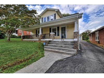 Elizabethton Single Family Home For Sale: 509 S Watauga Ave