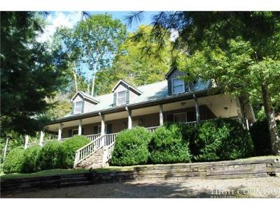 Sugar Grove Single Family Home For Sale: 2084 Mast Gap Rd