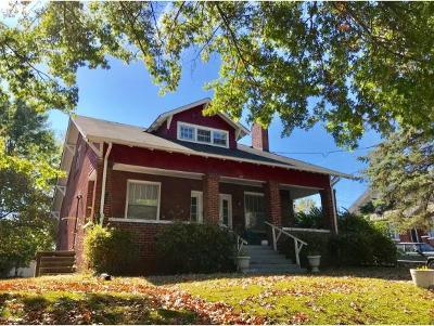 Bristol Single Family Home For Sale: 714 Fairmount Avenue