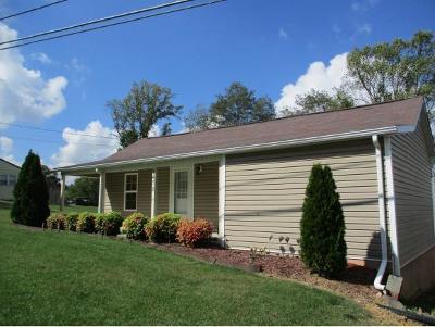 Bristol VA Single Family Home For Sale: $72,000