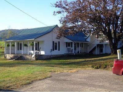 Shady Valley Single Family Home For Sale: 200 Roller Mill Road