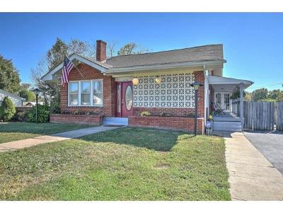 Johnson City Single Family Home For Sale: 1404 E. Holston Ave.