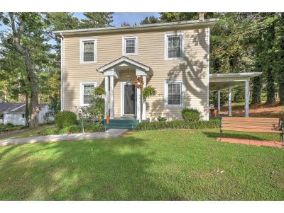 Bristol TN Single Family Home For Sale: $134,985