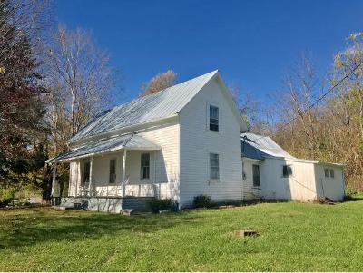 Bluff City TN Single Family Home For Sale: $146,850