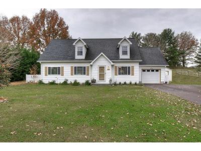 Erwin Single Family Home For Sale: 110 Oakwood Lane