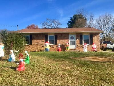 Bristol Single Family Home For Sale: 608 Cross Community Rd.