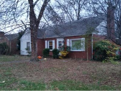 Johnson City Single Family Home For Sale: 822 W. Pine Street