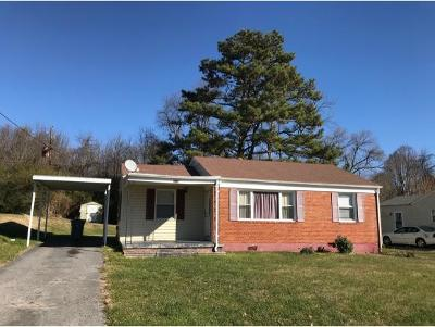 Bristol TN Single Family Home For Sale: $49,850
