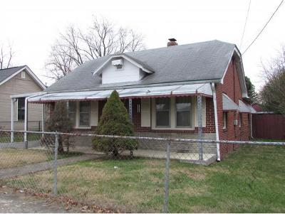 Kingsport TN Single Family Home For Sale: $78,000