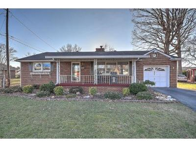 Kingsport TN Single Family Home For Sale: $133,000