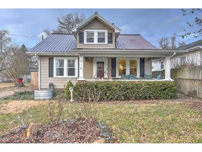 Johnson City Single Family Home For Sale: 416 W Highland Rd