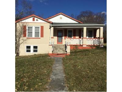 Bristol VA Single Family Home For Sale: $82,900