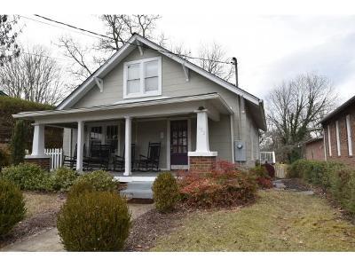 Jonesborough Single Family Home For Sale: 102 Oak Grove Avenue