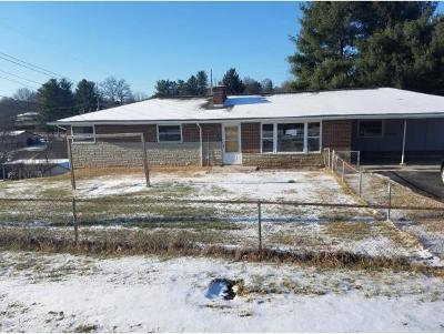 Bristol Single Family Home For Sale: 637 Old Stage Trail