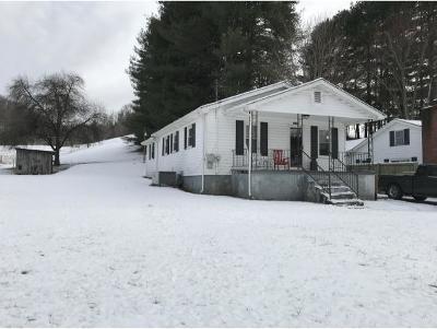 Bristol VA Single Family Home For Sale: $68,500
