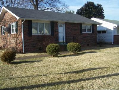 Kingsport TN Single Family Home For Sale: $97,500