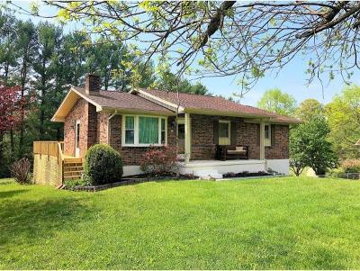 Bristol VA Single Family Home For Sale: $134,000