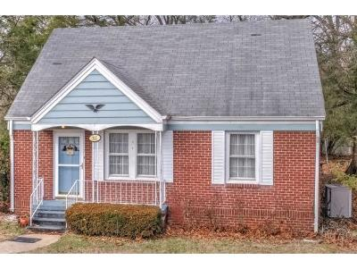 Church Hill TN Single Family Home For Sale: $80,000