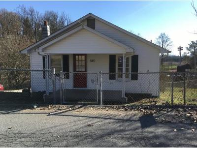 Bristol Single Family Home For Sale: 1120 East State
