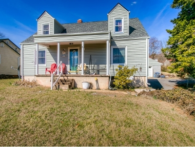 Kingsport TN Single Family Home For Sale: $110,000