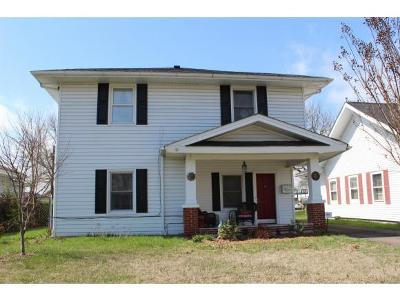 Kingsport TN Single Family Home For Sale: $89,900