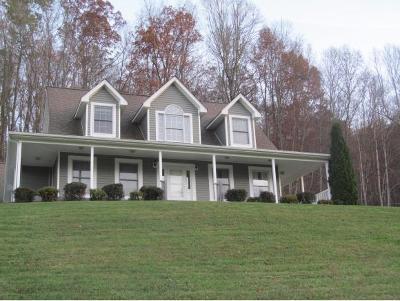 Damascus, Bristol, Bristol Va City Single Family Home For Sale: 23107 Bluff Hollow Road