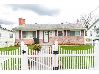 Bristol VA Single Family Home For Sale: $69,900