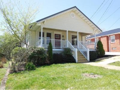 Bristol Single Family Home For Sale: 1016 Florida Avenue
