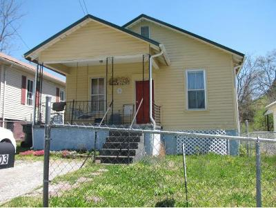 Greeneville TN Single Family Home For Sale: $49,900