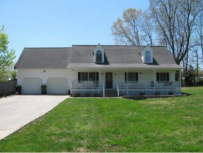 Gray Single Family Home For Sale: 104 Poplar Rd.
