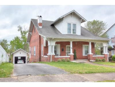 Kingsport Single Family Home For Sale: 153 W Sevier Ave