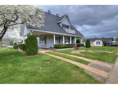 Erwin Single Family Home For Sale: 331 Clinchfield Avenue